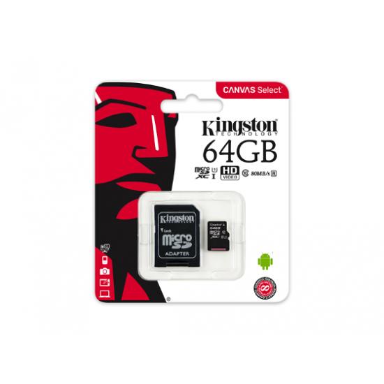 Raspberry Pi™ - original 64 GB Memory card KINGSTON