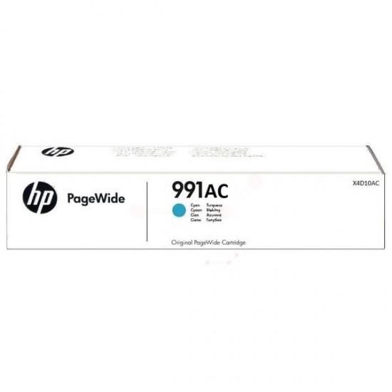 HP Ink Cyan 991AC (X4D10AC)