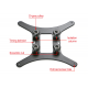 3D printer hot bed support CR-10 / 10S heating platform support CR20 hot bed support