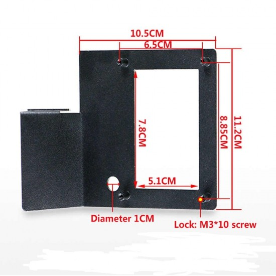 3D printer parts LCD display holder display screen protection frame display bracket for 3D printer accessories
