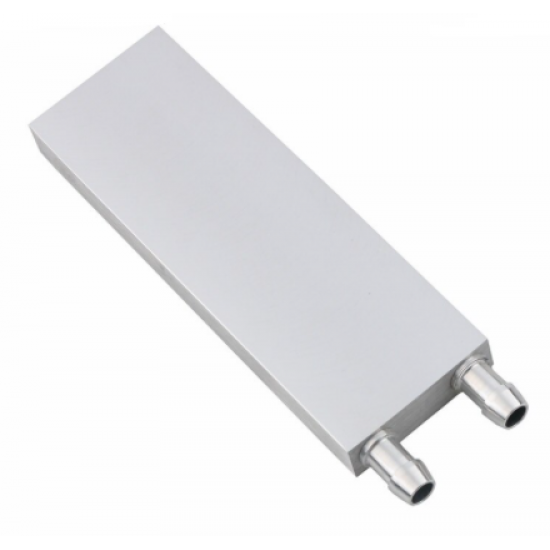 40*120mm Primary Aluminum Water Cooling Block for Liquid Water Cooler Heat Sink System