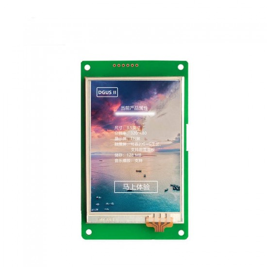 DGUS TFT LCD Module DWIN DMT-48270L043-01WT 4.3 inch Without Frame