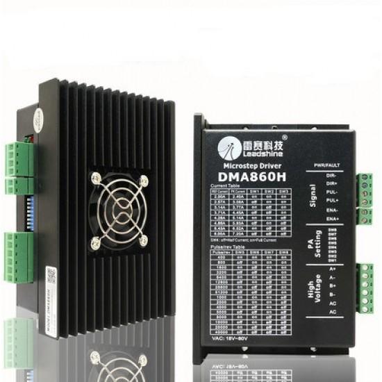 DMA860H Stepper Motor Driver 200KHz 18-80V AC Driver Controller 7.2A Driver for nema23 57 / nema34 86/2-Phase Stepper Motor