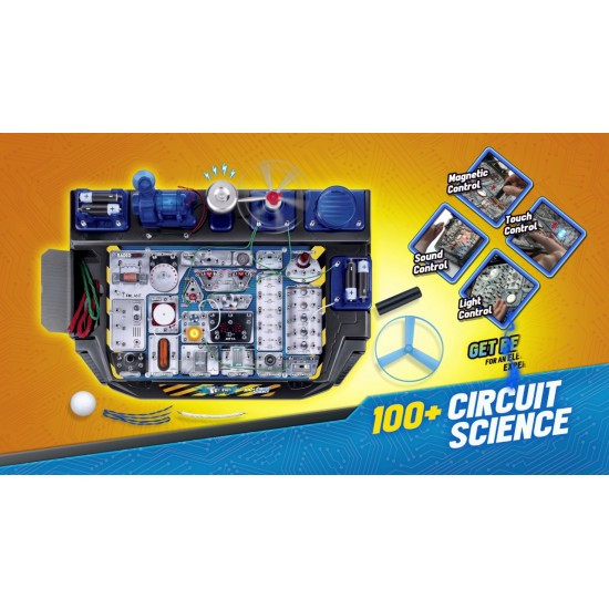 STEM Toys Circuit Lab Electronics Exploration Kit 100 in 1 STEAM Projects