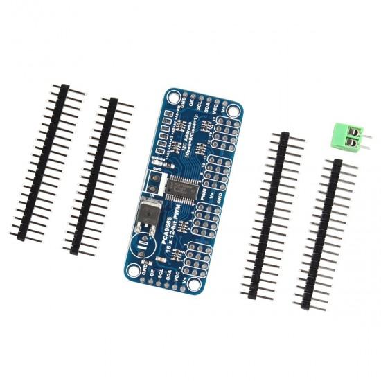 PCA9685 16-channel 12-bit PWM/Servo Driver I2C module