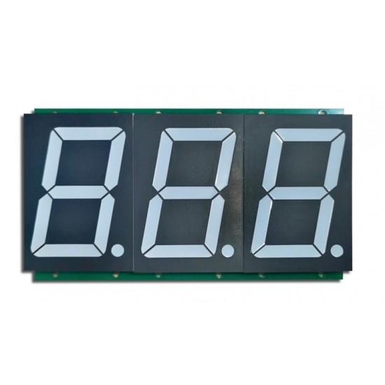 3 digit 7Segment module 2.3 inch Serial Data Display