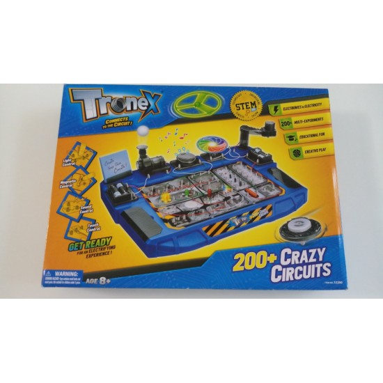 STEM Toys Circuit Lab Electronics Exploration Kit 200 in 1 STEAM Projects