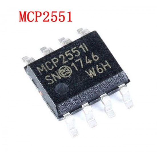 MCP2551 High-Speed CAN Transceiver SMD SOP8