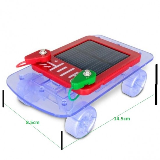 DIY Educational Solar Car Kit for primary school scientific experiments