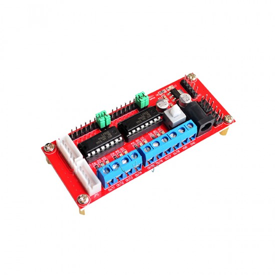 L293D 4 channel MOTOR DRIVER for 4WD robot car driver keyes 111330