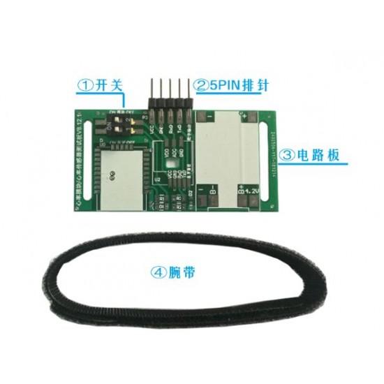 UART TTL Digital Heart Rate Pulse Sensor