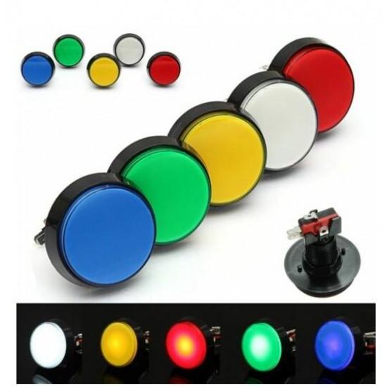Arcade Style Big Round Push Button 32mm