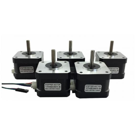 3D Printer Nema17 Stepper Motor Package 5 Pcs X 17HS3401S Offer