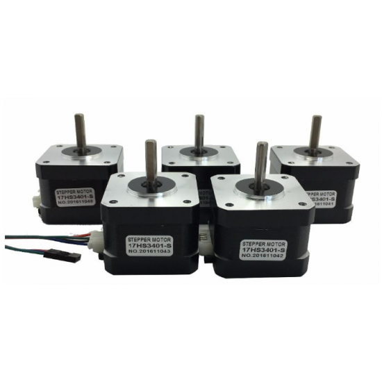 3D Printer Nema17 Stepper Motor Package 5 Pcs X 17HS3401S Offer