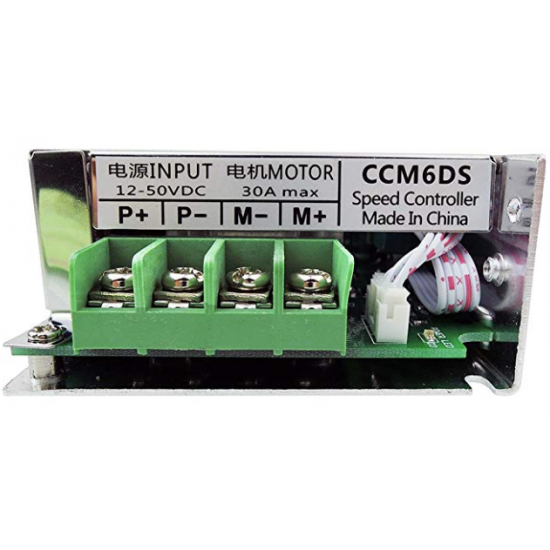 CCM6DS PWM DC motor governor DC12V 24V 36V 30A controller with shell speed switch