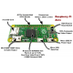 raspberry Pi zero | Pi0 |GHz single-core CPU 512MB RAM WITH (ACCESSORIES)