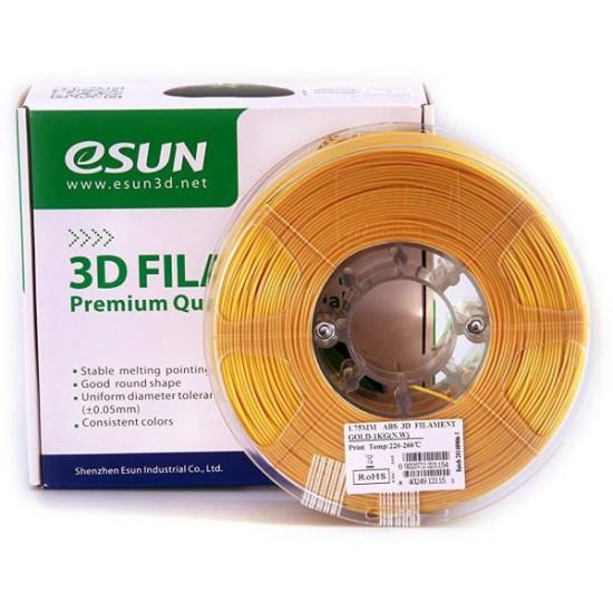eSUN 3D ABS 1.75mm - Gold Color