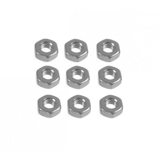 M3 Nut for Threaded Rod Hex Nut 3mm
