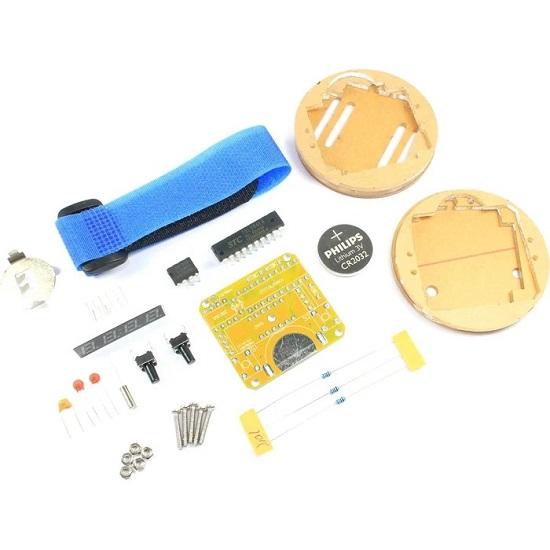 DIY LED Digital Electronic Watch