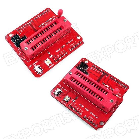 AVR ISP Shield Arduino Atmega328p Bootloader Writer
