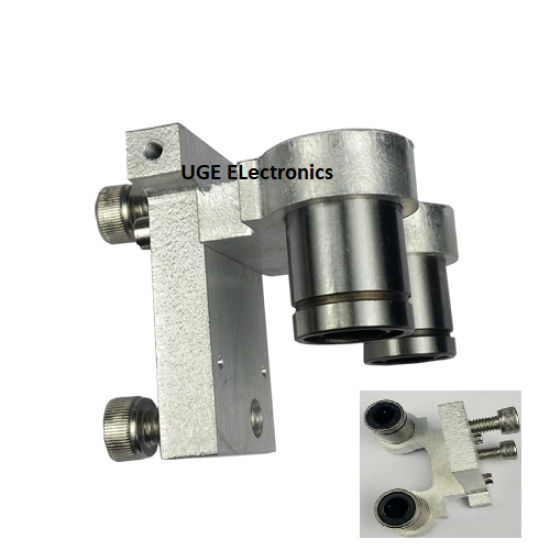 Delta optical axis plate accessories linear bearing fixed seat with Double LM8uu