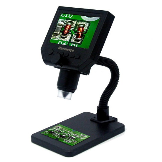 """Microscope  HD 4.3"""" inch  LCD  600 Times Magnification"""