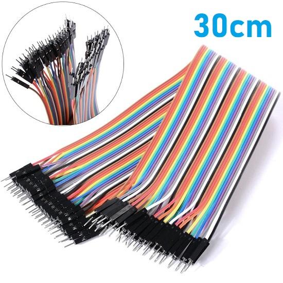 30cm Male - Female Breadboard Jumper Wire for Arduino Dupont M/F