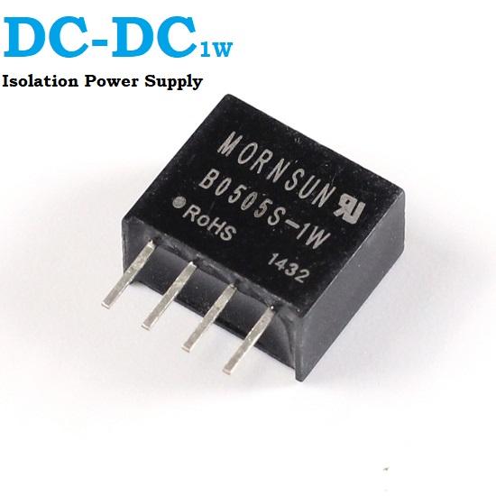 1 Watt DC - DC Isolation Power Supply 5V To 5V B0505S-1W Module