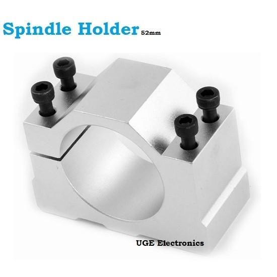 Spindle Clamp 52mm 57mm 65mm 80mm Aluminum CNC Motor Holder Mount Bracket
