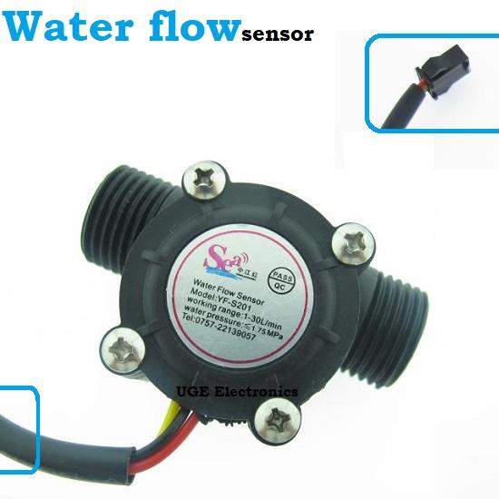 YFS201 Water Flow Rate Sensor 1-30 L/min YF-S201