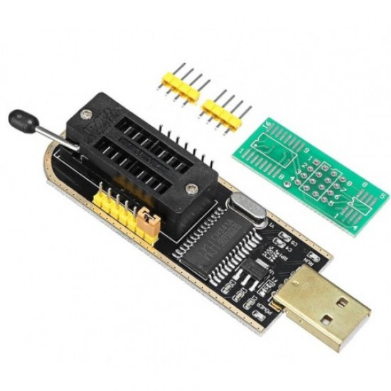 CH341A EEPROM Flash BIOS USB Programmer | SPI Programmer