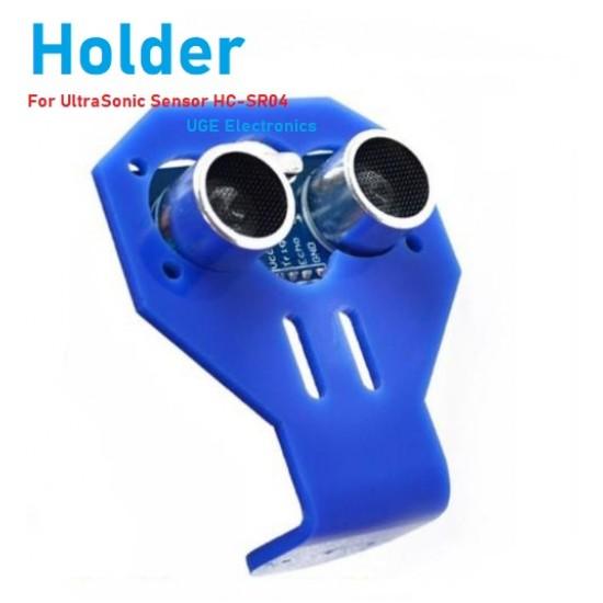 Arduino HC-SR04 Ultrasonic Sensor Bracket BLUE Holder Smart Car Support 2WD 4WD