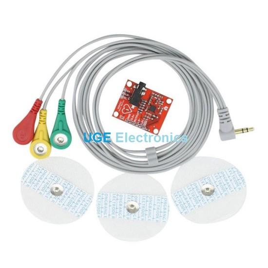 AD8232  ECG Sensor Module Pulse Heart Rate Monitor Kit