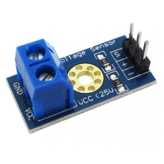 Voltage Detection Sensor Module DC0-25V