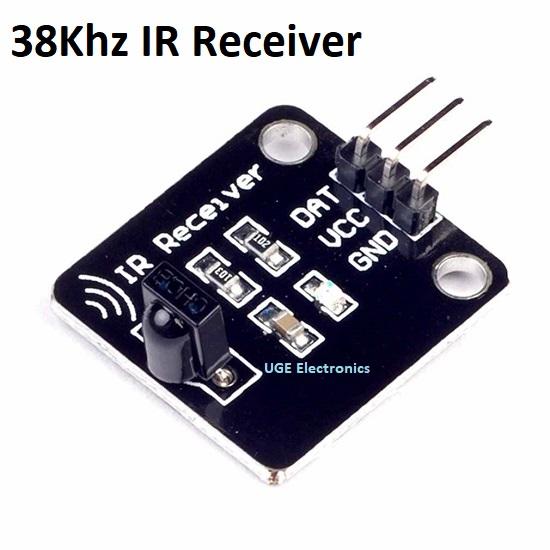 Digital 38KHZ Infrared Receiving Sensor Module  for Arduino
