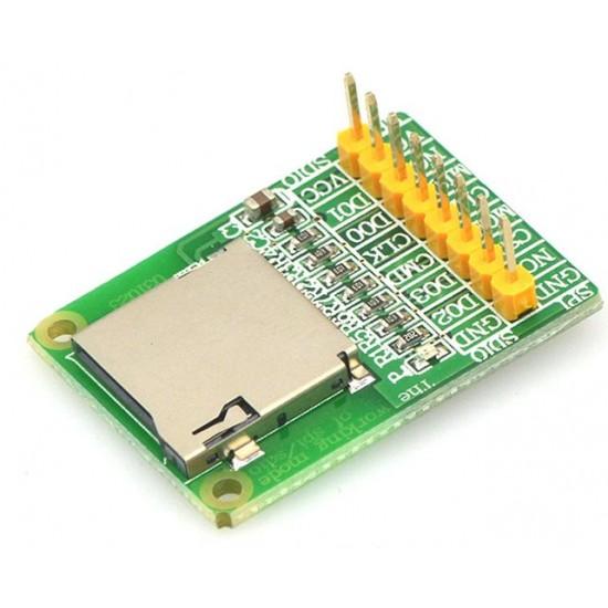 Micro SD card module TF card reader card reader SDIO SIP interface mini TF card reader module