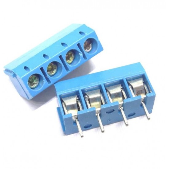Screw TERMINAL BLOCK 4 Pole Pitch 5.0mm Straight Pin for PCB