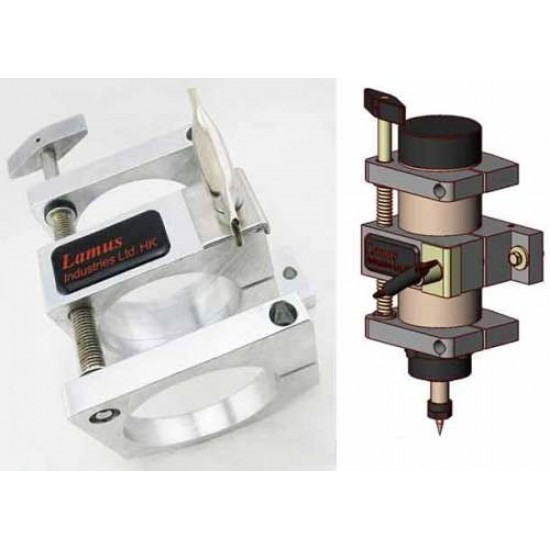 80mm Adjustable Z Axis Spindle Mount Holder for CNC Router