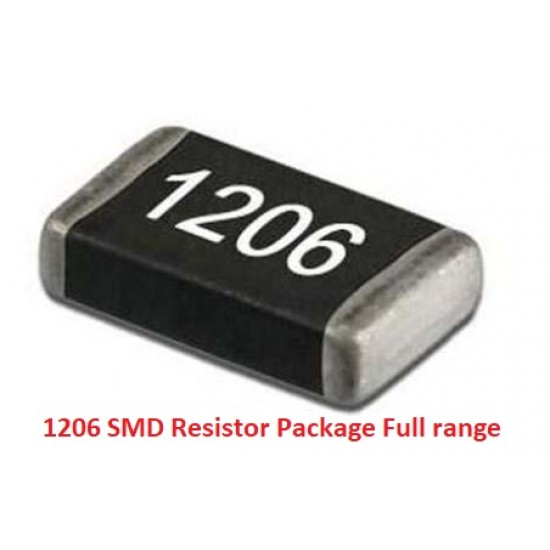 1206 SMD Resistor Package accuracy Full Range 170 Values 25 each total 4250pcs