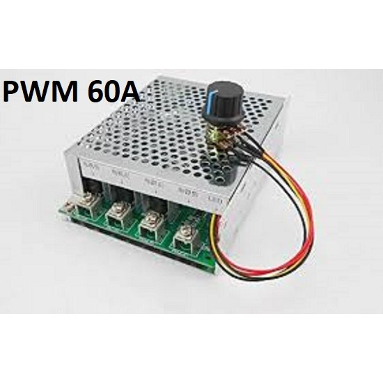 PWM DC motor speed controller Driver 60A