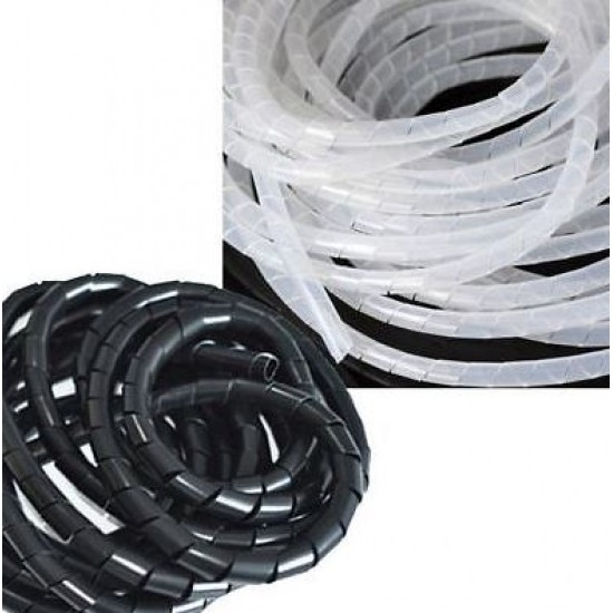 3D printer accessories Ф8mm Spiral Wrapping bundle cable ties