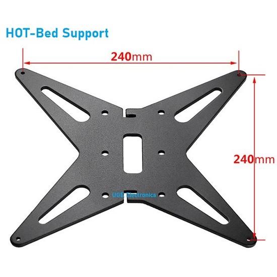 3D Printer Hot-bed Heating Support  Platform Holder for Prusa I3 , Ender-3, Ender-3S, CR20, CR-10, CR-10S, CR-10 S4, CR-10 S5, etc.