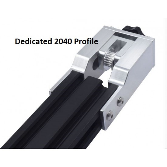 X-Axis Synchronous Belt Stretch Straighten Tensioner Set for Dedicated Profile 2040 Creality Ender-3 CR-10/10S 3D Printer