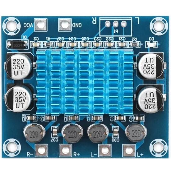 XH-A232 HD Digital Audio Power Amplifier Board mp3 Amplifier 12V24V Dual Channel 30W
