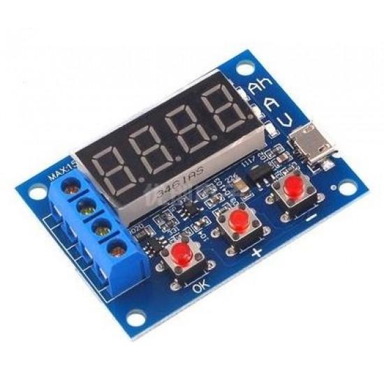 18650 Battery Capacity Tester 12V Lead Acid Battery
