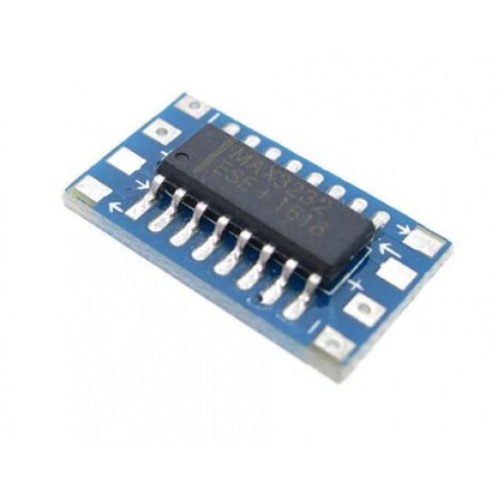 Mini RS232 MAX3232 To TTL level conversion board serial conversion module