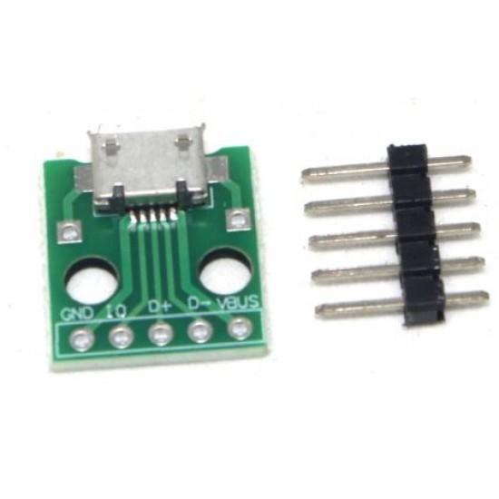 Micro USB to DIP Module
