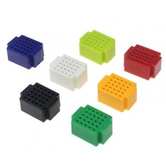 ZY25 Solderless Mini breadboard PCB Test Board (Seven Colors)