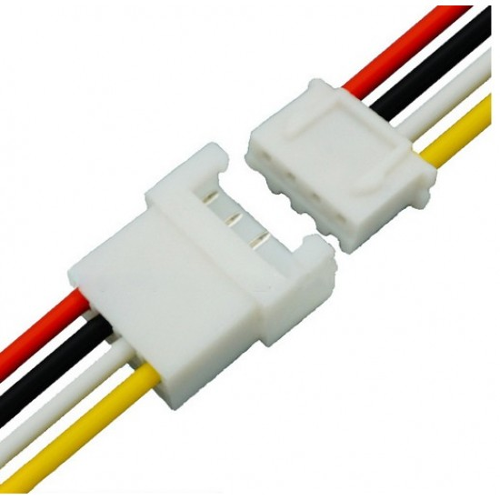 4 Pin XH Plug Male and Female Terminals Connectors Cable Wire XH2.54