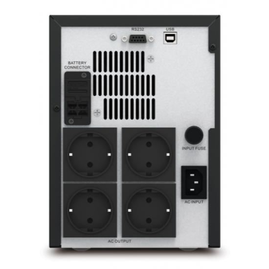 APC Easy UPS SMV 1000VA, Schuko Outlet, 230V SMV1000I-GR